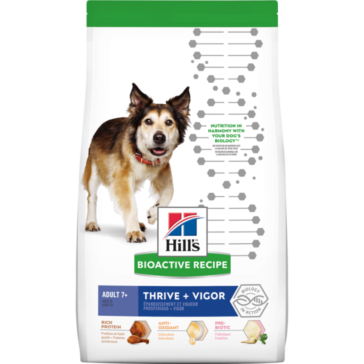 Hill's Bioactive Recipe Adult 7+ Thrive + Vigor dog food