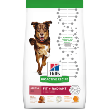 Hill's Bioactive Recipe Adult Fit + Radiant Medium Breed dog food