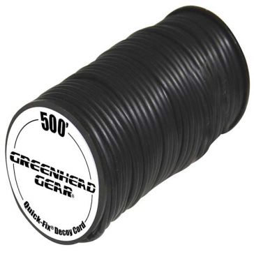 GHG Quick-Fix Decoy Cord 500ft Spool Black