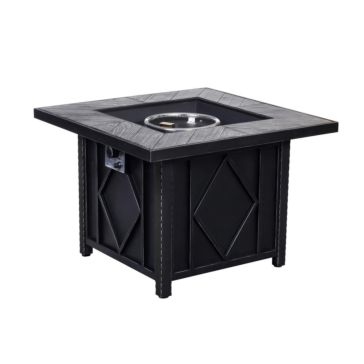 """Big Horn 35"""" Square Fire Pit"""