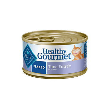 BLUE Healthy Gourmet Flaked Tuna Entree Can Cat Food
