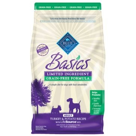 Blue Buffalo Basics Adult Grain-Free Turkey & Potato Recipe Dry Dog Food