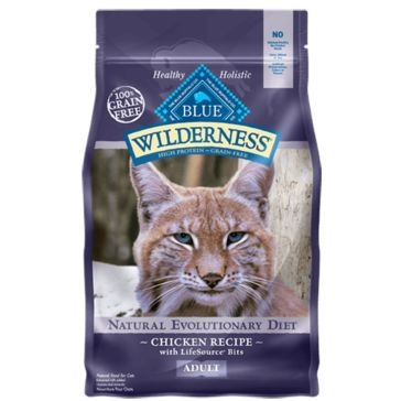 Blue Buffalo Wilderness Grain Free Adult Cat Food Chicken