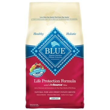 Blue Buffalo Life Protection Adult Fish & Sweet Potato Recipe Dry Dog Food