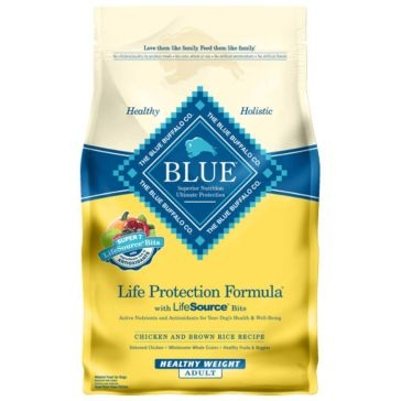 Blue Buffalo Life Protection Adult Healthy Weight Chicken & Brown Rice Recipe Dry Dog Food
