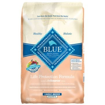 Blue Buffalo Life Protection Puppy Large Breed Chicken & Brown Rice Recipe Dry Dog Food