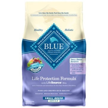 Blue Buffalo Life Protection Adult Small Breed Fish & Brown Rice Recipe Dry Dog Food