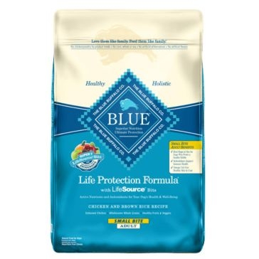 Blue Buffalo Life Protection Adult Small Bite Chicken and Brown Rice Dry Dog Food