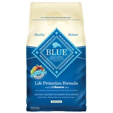 Blue Buffalo Life Protection Senior Chicken & Brown Rice Recipe Dry Dog Food