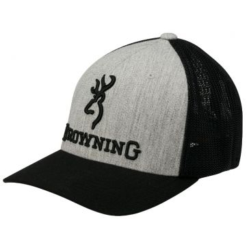 Browning Branded Heather Cap