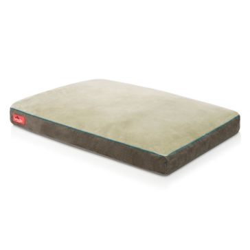 Brindle 34x22 Shredded Memory Foam Pet Bed - Khaki