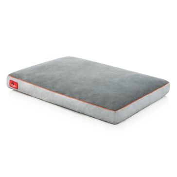 Brindle 34x22 Shredded Memory Foam Pet Bed - Stone