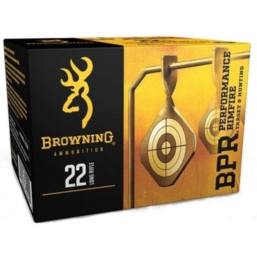 Browning .22LR 400rd 40grn Lead Round Nose Ammunition