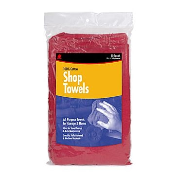 Buffalo Industries 25-Pack Cotton Shop Towels 62013HP