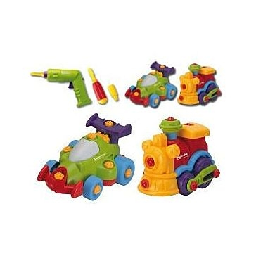 Keenway Build N Play Vehicles