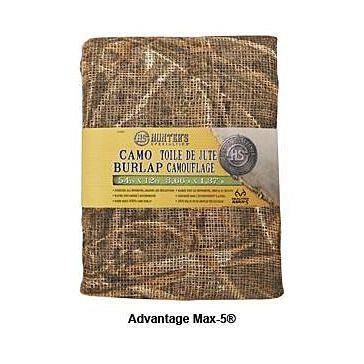 Hunters Specialties Camo Burlap 54in x 12ft