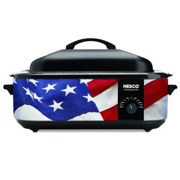 Nesco American Flag Patriotic Roaster 18 QT