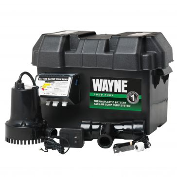 Wayne 12V Battery Back Up Sump Pump System ESP-15