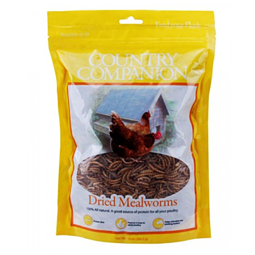 Country Companion Dried Mealworm Treats 5lb