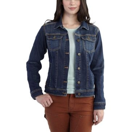 Carhartt Womens Brewster Denim Jacket