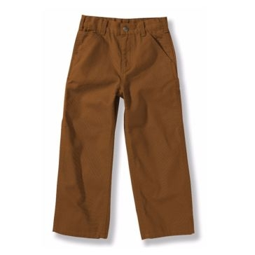 Carhartt Boys Washed Duck Dungaree Pants