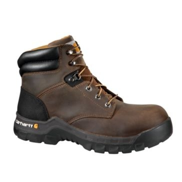 Carhartt Womens 6in Rugged Flex Work Boots Brown CWF5355