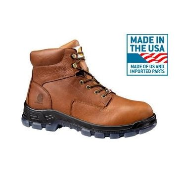Carhartt CMZ6340 USA MADE work boot profile view