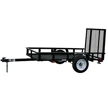 Carry-On 5X8G 2000lb Mesh Floor Trailer with Gate