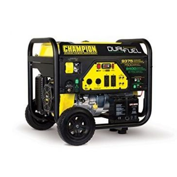 Champion 7500W Electric Start Dual Fuel Generator