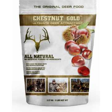 Chestnut Gold Chestnut Deer Attractant 5lb Bag