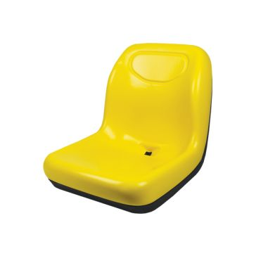 Concentric Intl Deluxe High-Back Gator-Style Seat Yellow