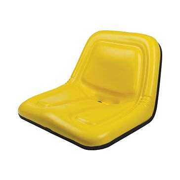 Concentric Intl Deluxe High-Back Steel Pan Seat Yellow