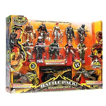 The Corps Battle Pack 10 Figure Set