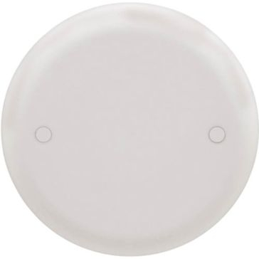 Thomas & Betts Ceiling Box Cover White Round CPC4WH