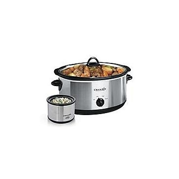Oval Crockpot 8 QT Slow Cooker