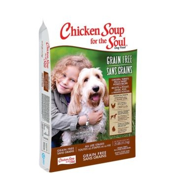 Chicken Soup for the Soul Chicken, Turkey, Pea & Sweet Potato Formula Dry Dog Food