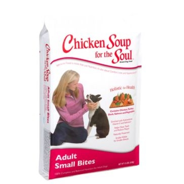 Chicken Soup for the Soul Adult Small Bite Formula Dry Dog Food