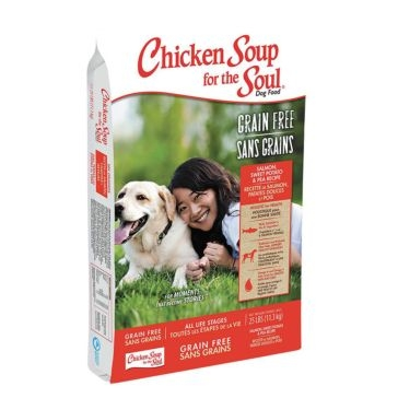 Chicken Soup for the Soul Salmon, Sweet Potato & Pea Formula Dry Dog Food