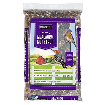 Mealworm, nut & fruit 8lb