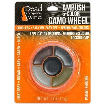 Dead Down Wind Ambush 5-Color Face Camo Compact