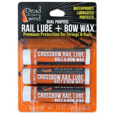 Dead Down Wind Speedstick Rail Lube & Bow Wax 3-Pack