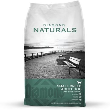 Diamond Naturals Small Breed Lamb & Rice Adult Dry Dog Food