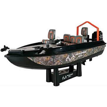 Radio Controlled Realtree Bass Fishing Boat