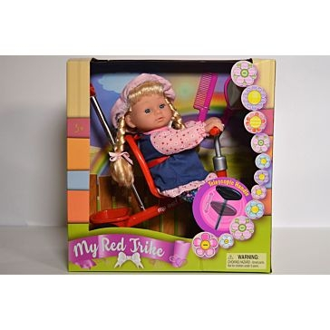 My Red Trike Doll Set