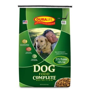 Duralife 21% Protein Adult Dry Dog Food 40lb