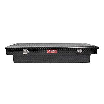 DeeZee Single Lid Full Size Crossover Truck Tool Box Black
