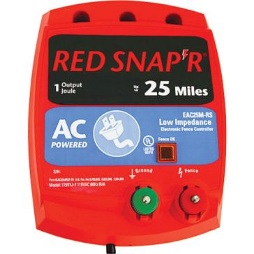 Zareba Red Snap'r 25 Mile Fence Charger