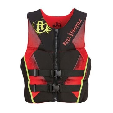 Full Throttle Mens Hinged Rapid-Dry Flex-Back Life Jacket