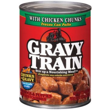 Gravy Train Dog Food with Chicken Chunks