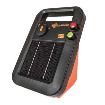 Gallagher S10 3-Mile Solar Fence Energizer